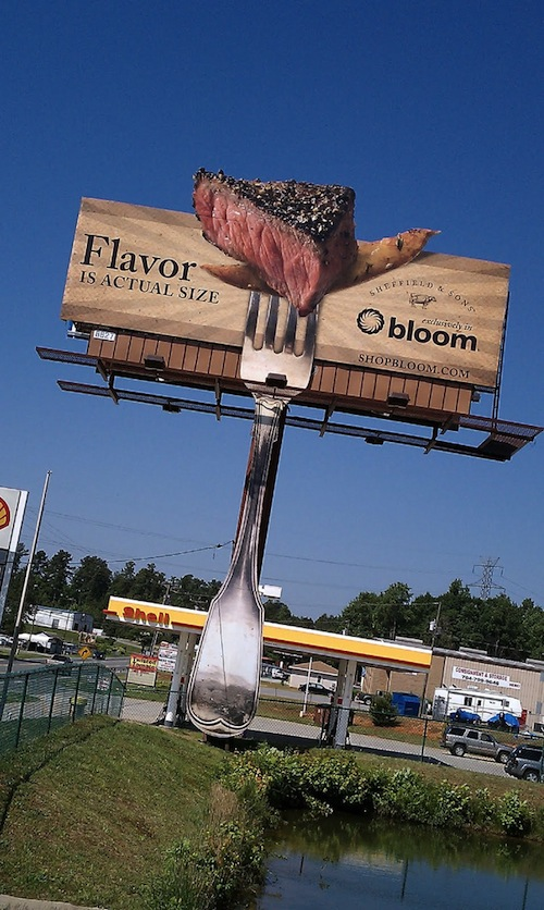 10-Bloom–Steak-Scented-Billboard
